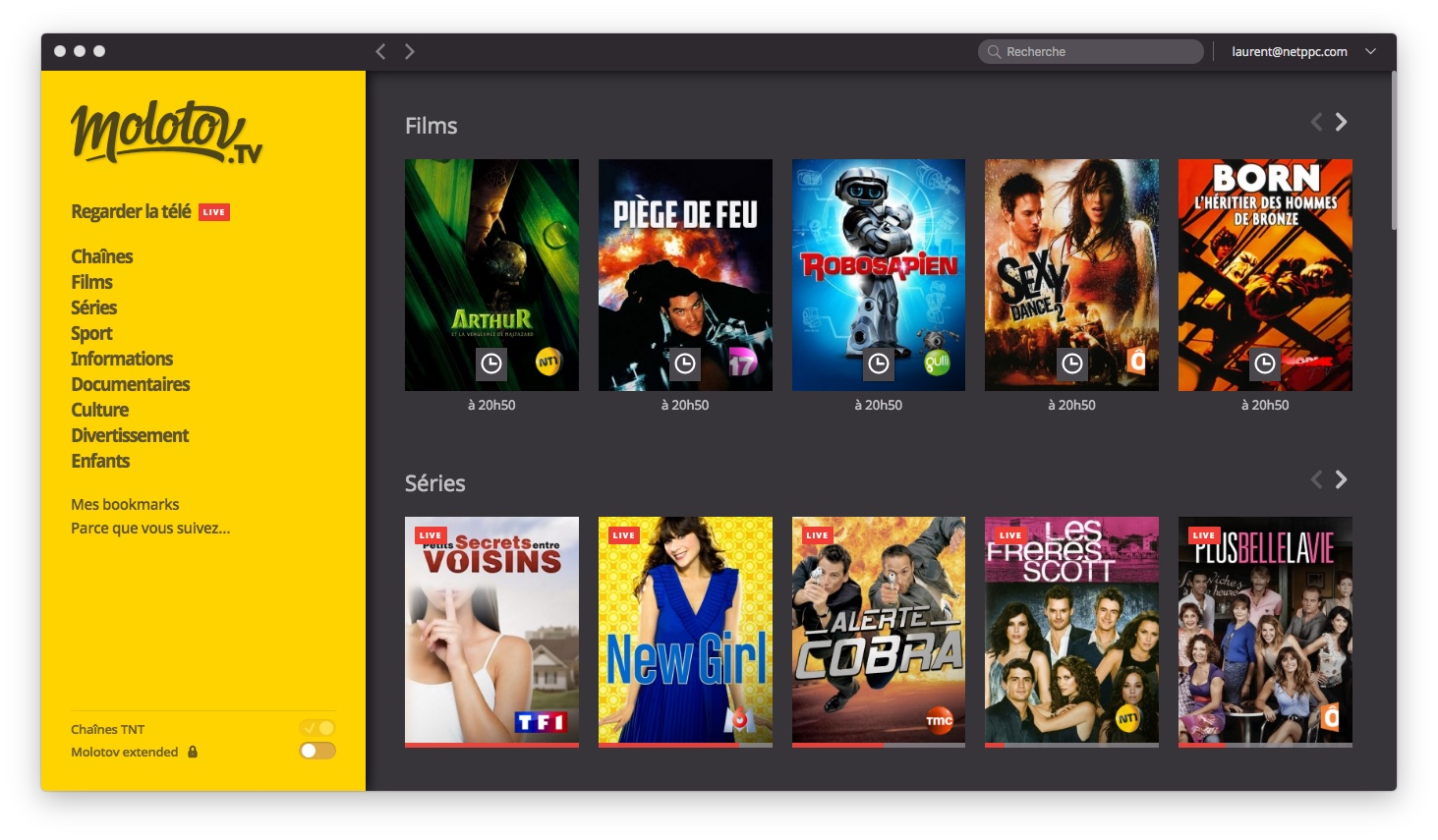Films streaming gratuit