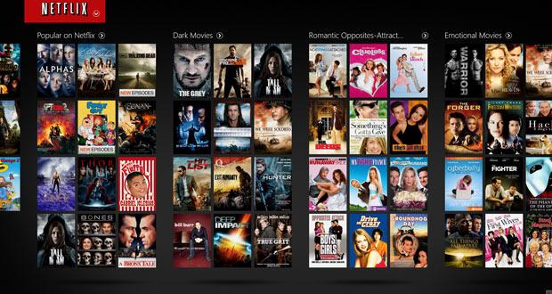 Télécharger film sur Netflix