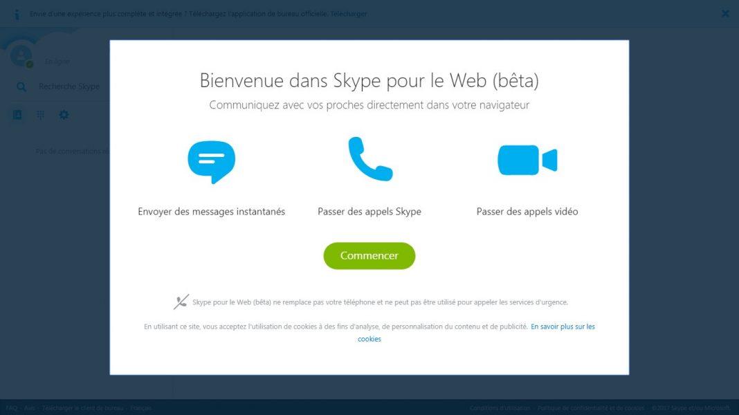 Skype en ligne