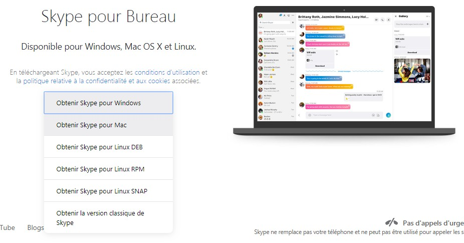 Comment t l charger skype sur pc mac et smartphone - Comment telecharger open office sur mac ...