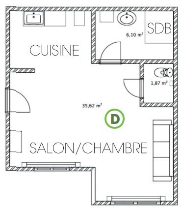 Installer un détecteur de fumée dans un studio ou appartement