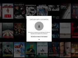 Télécharger un film sur Netflix