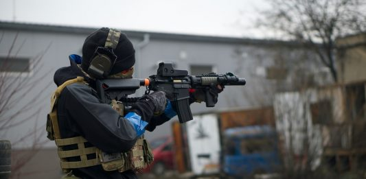 Protection airsoft